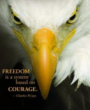 freedom is courage